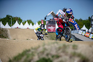 #85 (HATAKEYAMA Sae) JPN at Round 4 of the 2018 UCI BMX Superscross World Cup in Papendal, The Netherlands