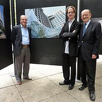 Exposición en el Paseo de la Reforma El Ojo del Arquitecto, Idea Asociados, fotografía Paul Camhi