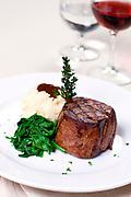 Fillet Steak in Killarney Restaurant.<br /> Picture by Don MacMonagle -macmonagle.com