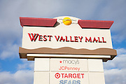 West Valley Mall Signage in Tracy California