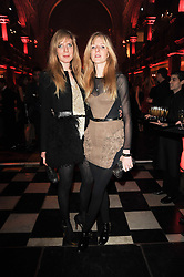 DANIELA FELDER and ANNETTE FELDER at a Celebration of 10 Years of IHT Luxury Conferences during the International Herald Tribune Heritage Luxury Conference held at One Mayfair, 13 1/2 North Audley Streer, London on 9th November 2010.