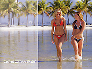 Cigarette Racing Apparel catalogue beach ware 2 girls in bikinis