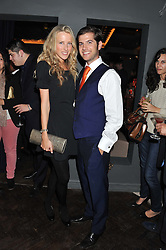 JACK & KATE FREUD at the launch party for Barberella, 428 Fulham Road, London SW6 on 17th October 2012.