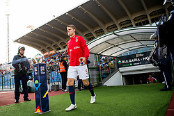 September 9, 2018 - Sofia, BULGARIA - 180909 Sigurd Rosted of Norway ahead of the Nations League match between Bulgaria and Norway on September 9, 2018 in Sofia..Photo: Jon Olav Nesvold / BILDBYRN / kod JE / 160311 (Credit Image: © Jon Olav Nesvold/Bildbyran via ZUMA Press)