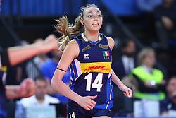 ELENA PIETRINI (ITALIA)<br /> ITALIA - SERBIA<br /> PALLAVOLO VNL VOLLEY FEMMINILE 2019<br /> CONEGLIANO (TV) 30-05-2019<br /> FOTO GALBIATI - RUBIN