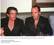 Skeet Ulrich & Tom Ford.Vanity Fair Oscar Night Party. Mortons. Los Angeles.<br />24/3/97<br />Photograph by Dafydd Jones<br />66 Stockwell Park Rd. London SW9 0DA<br />Tel. 0171 733 0108