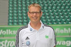12.07.2011, Volkswagen Arena, Wolfsburg, GER, 1.FBL,  VfL Wolfsburg, Spielervorstellung im Bild  Manfred Kroß (Masseur) beim VfL Wolfsburg in der Saison 2011/2012 // during the player praesentation in Wolfsburg 2011/07/12.     EXPA Pictures © 2011, PhotoCredit: EXPA/ nph/  Rust       ****** out of GER / CRO  / BEL ******