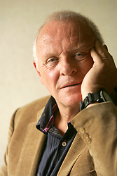 "Anthony Hopkins wrote, directed, stars and wrote the music for his new movie, ""Slipstream,"" October 18, 2007. (Bruce Gilbert/Newsday/MCT)"