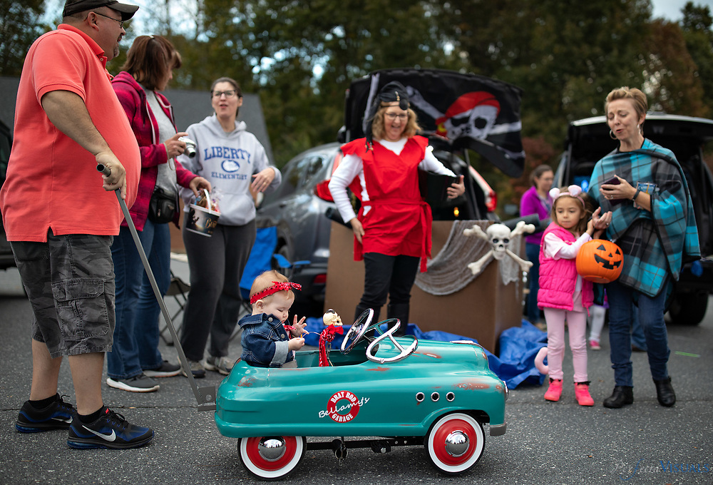 Trunk or Treat 2018 at Marlboro Friends Meeting.<br /> <br /> Photographed, Sunday, October 28, 2018, in Greensboro, N.C. JERRY WOLFORD and SCOTT MUTHERSBAUGH / Perfecta Visuals