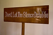 A sign at Kalari Kovilakom Ayurveda medical treatment center, Kerala, India
