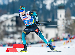 24.02.2019, Seefeld, AUT, FIS Weltmeisterschaften Ski Nordisch, Seefeld 2019, Nordischen Kombination, Teambewerb, Langlauf, im Bild Maxime Laheurte (FRA) // Maxime Laheurte of France during the cross country for the team competition Nordic Combined of FIS Nordic Ski World Championships 2019. Seefeld, Austria on 2019/02/24. EXPA Pictures © 2019, PhotoCredit: EXPA/ Stefan Adelsberger