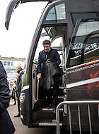 Walter Mazzarri manager of Watford arrives during the FA Cup match at The Den, London<br /> Picture by Liam McAvoy/Focus Images Ltd 07413 543156<br /> 29/01/2017