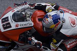 November 3, 2018 - Sepang, Malaysia - IDEMITSU Honda Team Asia Moto2 rider Khairul Idham Pawi of Malaysia powers his bike during free practice 3 session of Malaysian Motorcycle Grand Prix at Sepang International Circuit in Sepang, November 3, 2018. (Credit Image: © Zahim Mohd/NurPhoto via ZUMA Press)