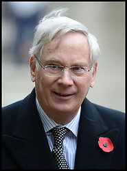 Duke of Gloucester arrives for the President of the Republic of Korea Her Excellency Park Geun-hye for a Korean War Memorial Ceremony, at Victoria Embankment Gardens, London, United Kingdom, Tuesday, 5th November 2013. Picture by Andrew Parsons / i-Images