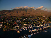 Lahaina from above