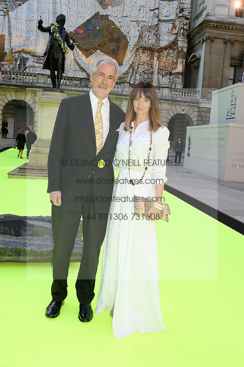 JEREMY KING and LAUREN GURVICH at the preview party for The Royal Academy Of Arts Summer Exhibition 2013 at Royal Academy of Arts, London on 5th June 2013.