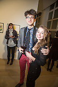 YARO WALKER; AMY PETHER, Private View of Pavel Pepperstein,  Pace  London, 6-10 Lexington Street,10 February 2014
