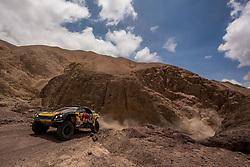 January 11, 2019 - Arequipa, Peru - AREQUIPA, PU - 11.01.2019: DAKAR 2019 - Loeb Sebastien (FRA) during the Dakar Rally 2019, this Friday (11), in Arequipa, Peru. (Credit Image: © José MáRio Dias/Fotoarena via ZUMA Press)