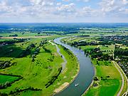 Nederland, Gelderland, Gemeente Zutphen, 21–06-2020; IJssel met Nieuwe IJsselbrug (ten zuiden van Zutphen), de Cortenoeversebrug.<br /> River IJssel, south of Zutphen.<br /> luchtfoto (toeslag op standaard tarieven);<br /> aerial photo (additional fee required)<br /> copyright © 2020 foto/photo Siebe Swart