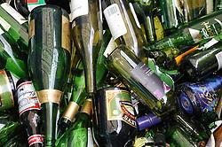 Glass bottle banks; Manchester City Council,