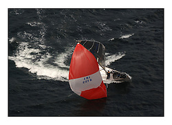 Day 2 of the Bell Lawrie Scottish Series with wild conditions on Loch Fyne for all fleets. Exhilarating and testing racing for Boats and crew...Class 4  IRL8155 Zoom Baby,  chinese gybe..