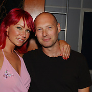 Playboy Night 2004, Cindy Pielstroom en vriend Herman