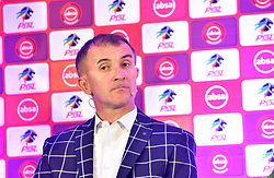 South Africa: Johannesburg: Orlando Pirates coach Milutin Sredojevic, after addressing members of the media on the much anticipated Soweto Derby on Saturday when Orlando Pirates host rivals Kaizer Chiefs for Absa Premiership match at FNB Stadium.<br />Picture: Itumeleng English/African News Agency (ANA)