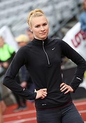 Ukraine's Tetiana Melnyk at the Aarhus Nordic Challenge 2016 at Ceres Park, Aarhus, Denmark, 25.6.2016. (Allan Jensen/EVENTMEDIA).