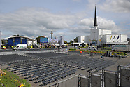 August 2018 Preparations in Knock Pope Francis
