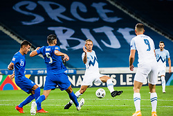 Rajko Rep of Slovenia during football match between National Teams of Slovenia and Greece in UEFA Nations League 2020, on September 3, 2020 in SRC Stozice, Ljubljana, Slovenia. Photo by Grega Valancic / Sportida