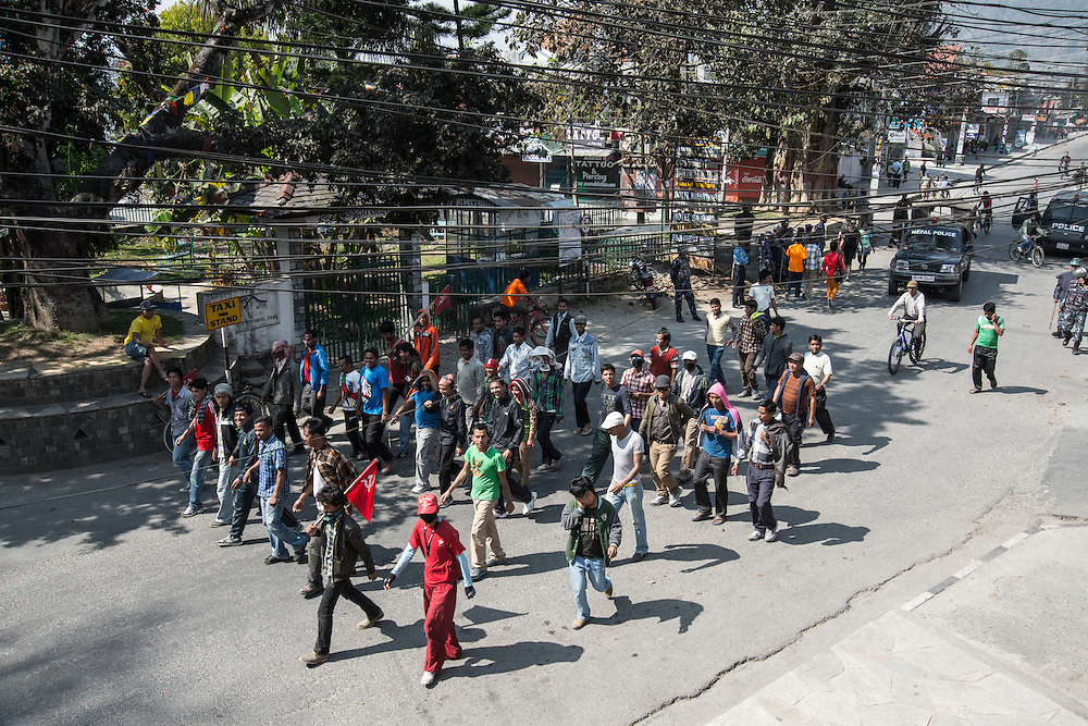 General Strike, Pokhara, Nepal