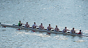 Chiswick, London, Great Britain.<br /> Radley CollegeSchool 2nd Eight. 2016 Schools Head of the River Race, Reverse Championship Course Mortlake to Putney. River Thames.<br /> <br /> Thursday  17/03/2016<br /> <br /> [Mandatory Credit: Peter SPURRIER;Intersport images]