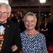 NLD/Amsterdam/20171012 - Televizier-Ring Gala 2017, Judith Bos en Wim Le Rutte