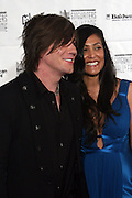 John Rzeznik and Guest at The 2008 Songwriters Hall of Fame Awards Induction Ceremony held at The Marriott Marquis Hotel on June 19, 2008 ..The Songwriters Hall of Fame celebrates songwriters, educates the public with regard to their achievements, and produces a spectrum of professional programs devoted to the development of new songwriting talent through workshops, showcases and scholarships. The sonwriters Hall of Fame was founded in 1969 by songwriter Johnny Mercer and publishers Abe Olman and Howie Richardson