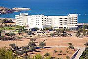 Hotels on Vlicha beach, Rhodes, Greece