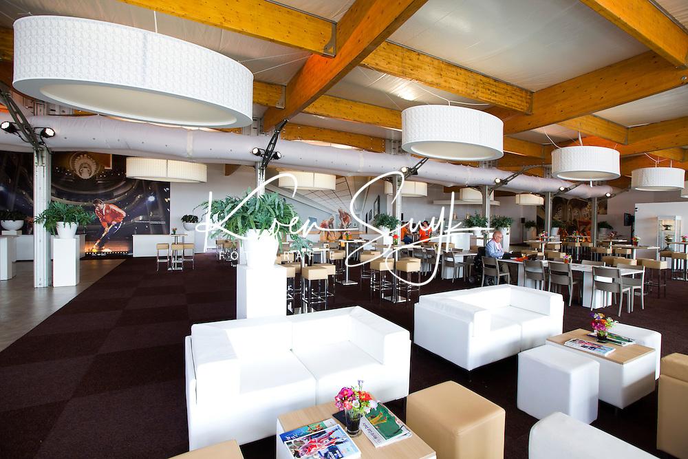 DEN HAAG - KNHB lounge leeg. Rabobank World Cup Hockey 2014 . COPYRIGHT KOEN SUYK