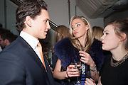 MATT MANSON; NOELLE RENO, Maison Triumph launch to celebrate the beginning of London fashion week. Monmouth St. 14 February 2013.