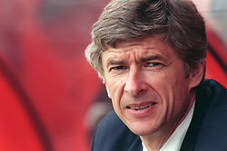 FILE PHOTO: Arsene Wenger is to leave Arsenal at the end of the season, ending a near 22-year reign as manager<br /><br />Arsenal manager Arsene Wenger ... Soccer - Friendly - Boreham Wood v Arsenal ... 10-07-1998 ...   ... None ... Photo credit should read: Tony Marshall/EMPICS Sport. Unique Reference No. 282517 ... Soccer - Friendly <br />Arsenal manager <br />Arsene Wenger
