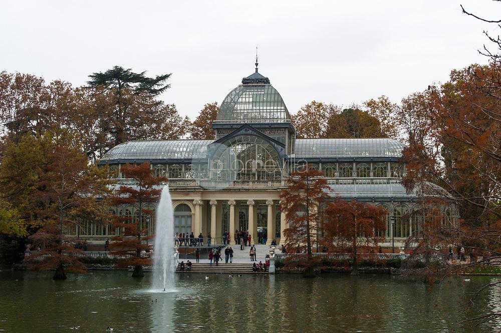 Palacio de Cristal. Parque del Retiro, Madrid, España © / PILAR REVILLA ©Country Sessions / PILAR REVILLA