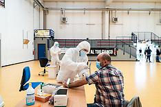 First day of serological tests - Milan 16 April 2020