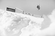 Nick Goepper during Men's Ski Slopestyle Finals at 2014 X Games Aspen at Buttermilk Mountain in Aspen, CO. ©Brett Wilhelm/ESPN