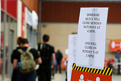 © Licensed to London News Pictures. 27/04/2020. London, UK. Homebase in Haringey, north London opens during coronavirus lockdown. The lockdown continues to slow the spread of COVID-19 and reduce pressure on the NHS. Photo credit: Dinendra Haria/LNP