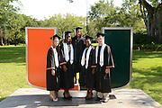2013 Miami Hurricanes Graduating Seniors