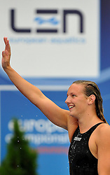 15.08.2010, Budapest, Ungarn, HUN, Schwimmeuropameisterschaften, Budapest 2010, im Bild Katinka Hosszu (HUN) 200m butterfly gold medal .Swimming European Championships Budapest 2010 - Campionati Europei di Nuoto Budapest 2010.Swimming finals - Finali di nuoto.EXPA Pictures © 2010, PhotoCredit: EXPA/ InsideFoto/ Giorgio Perottino +++++ ATTENTION - FOR AUSTRIA AND SLOVENIA CLIENT ONLY +++++.