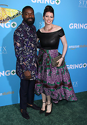 Gringo World Premiere - Los Angeles. 06 Mar 2018 Pictured: David Oyelowo, Jessica Oyelowo. Photo credit: Jaxon / MEGA TheMegaAgency.com +1 888 505 6342