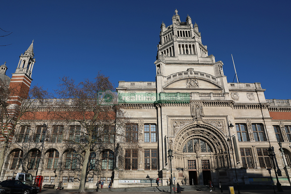 A general view of the Victoria and Albert Museum, London. Picture dated: Wednesday January 30, 2019. Photo credit should read: Isabel Infantes / EMPICS Entertainment.
