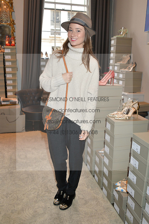 KELLY EASTWOOD at a preview of Bionda Castana's new seasons shoes hosted by Alex Meyers and Bionda Castana and held at The Arts Club, 40 Dover Street, London on 4th March 2015.