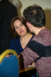 Pictured: Kezia Dugdale<br /> Scottish Labour leader Kezia Dugdale, MSP,  and Tom Watson, MP deputy leader of the Labour Party, visited Edinburgh's Serenity cafe today to meet and encourage Labour candidates ffor the upcoming local elections;<br /> Ger Harley | EEm 27 March 2017
