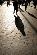 Shadowplay - shadows on Dublin's O'Connell Street