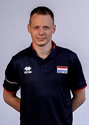 Ass coach Erik Reitsma of Netherlands, Photoshoot selection of Orange women's volleybal team season 2021on may 12, 2021 in Arnhem, Netherlands (Photo by RHF Agency/Ronald Hoogendoorn)